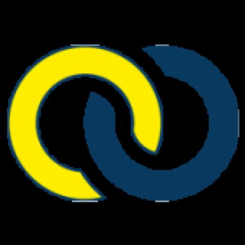 Deurknop vast op breedschild - TONIC LINE TL0404